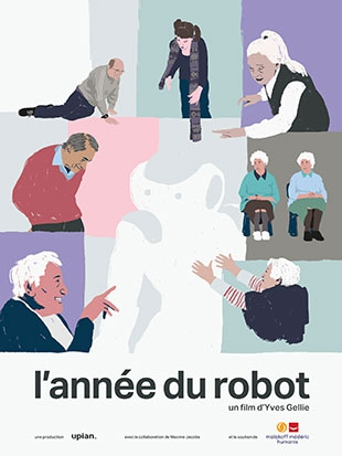 « L'année du robot », une installation vidéo fascinante et émouvante signé Yves Gellie